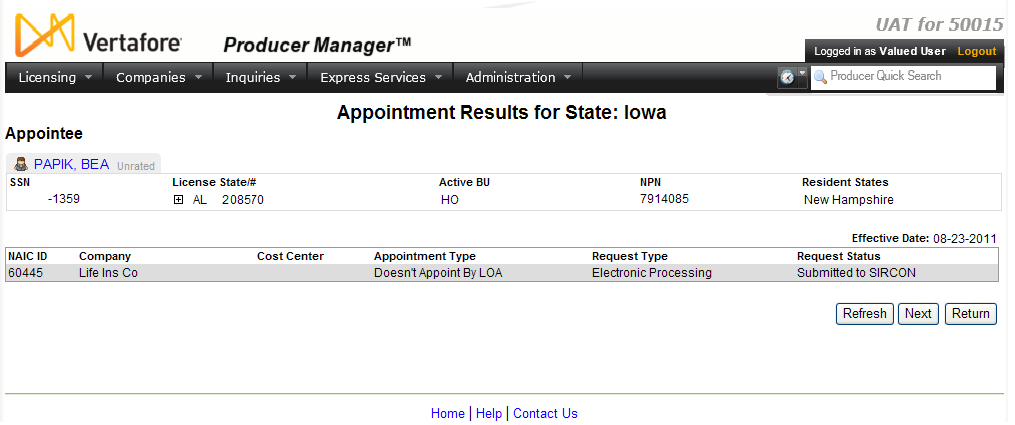 Add Appointments