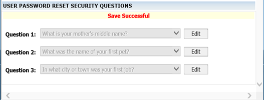 Personalize User Password Reset